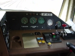 SD70M Control Panel on UP #4305
