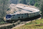 American Orient Express crossing Suwanee Creek