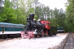 The very last sunrise this loco will see at Stone Mountain Park