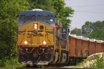 CSX Ballast Train working
