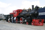 "After a relocation & cosmetic restoration, the ""General II"" is dedicated at the Southeast Railway Museum"