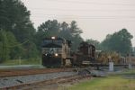 NS Train #980 High & Wide Special with a very rare load