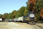 Norfolk Southern Museum Special delivers 6 cars to the museum on a rare Saturday move.  Two of the cars are ex Wabash Domes