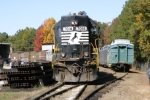 NS Museum Special delivers 6 cars to the Southeastern Railway Museum