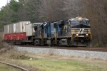 NS Train #237 slows for a stop in front of the Southeastern Railway Museum