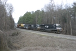 NS High & Wide Train #981 south