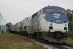 "Southeastern Railway Museum hosts ""Disneys Christmas Carol Train Tour"" on track #14"