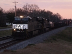 NS Train #154 with only with only 10 loads on track #2