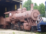 Final coat of primer prior to painting - Chattahoochee Valley Railway Co. 2-8-0 #21