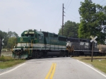 NS P68 switches loads of coil cars into Ryerson / Tull Metals