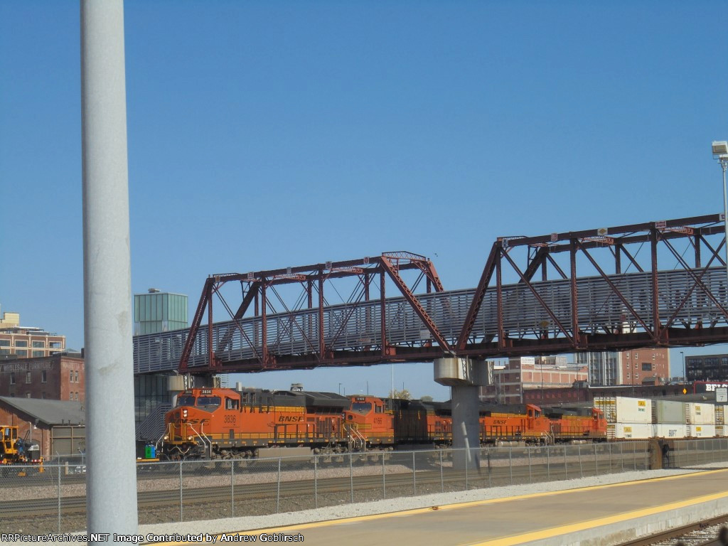 BNSF 3836, 4166, 3864 & 5532