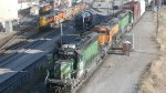 BNSF Engines, CREX 1429, IAIS 709 & RDG 2100