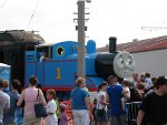 Thomas Visit Illinois Railway Museum