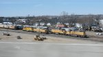 UPY 707, 837, UP 2399, 1986 & Other Freight Cars