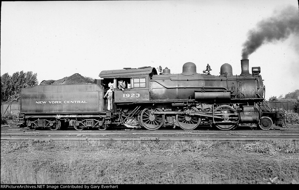 NYC 2-6-0 #1923, New York Central