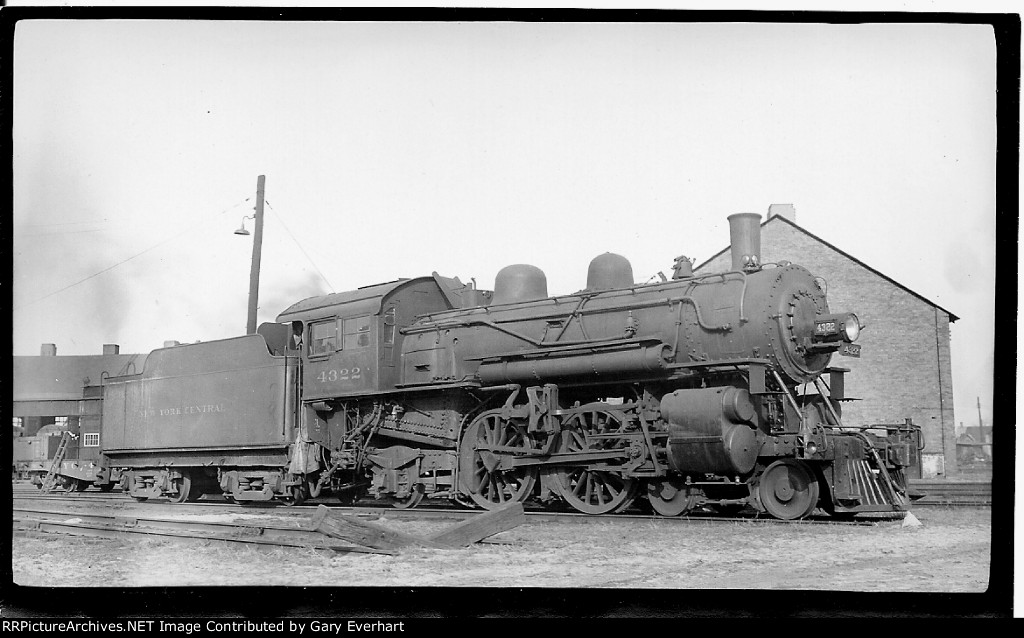 NYC 4-4-2 #4322, New York Central