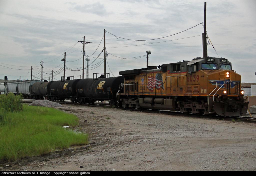 1 Unit wonder on a SB BNSF freight train.