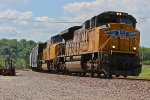 Solid EMD on a EB Up freight train!