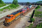 BNSF 4026 Leads a real Santa Fe dash9!!!