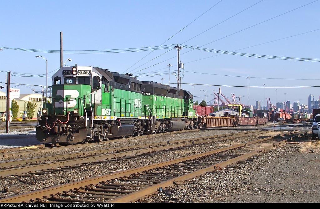 BNSF 2918