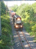 NS 3021 from Tinton Ave overpass