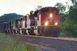 CN Leads Mixed Freight