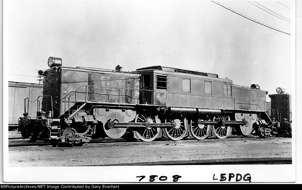 PRR L5pdg #7808 - Pennsylvania RR
