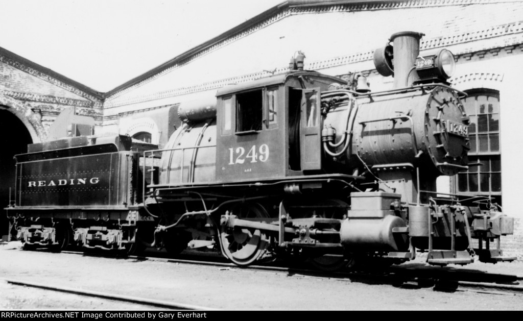 RDG 0-4-0 #1249 camelback - Philadelphia & Reading RR