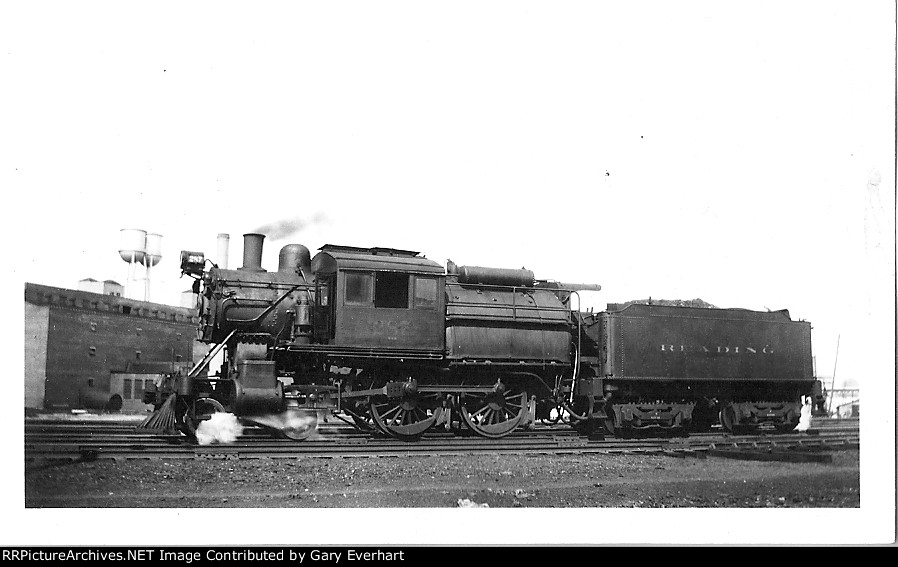 RDG 4-4-0 #287 camelback - Philadelphia & Reading