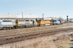Shot of the BNSF Locomotive