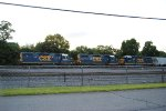 Local power lineup of all GP38's