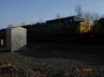 CSX 66 is the third loco in this consist heading EB