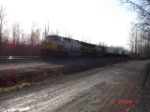 CSX 632 & CSX 635 lead this EB Intermodal on the #1 Track