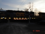CSX 8860 passing the Crossing Arms EB