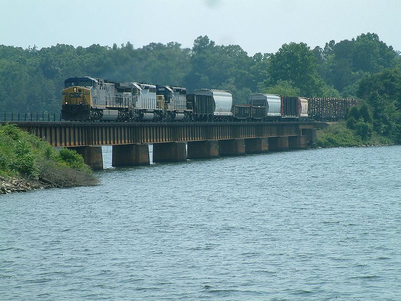F788 crossing Lake Greenwood