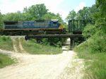 CSX 7540 on train Q675