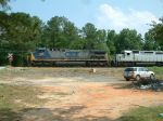 CSX 297 and my car