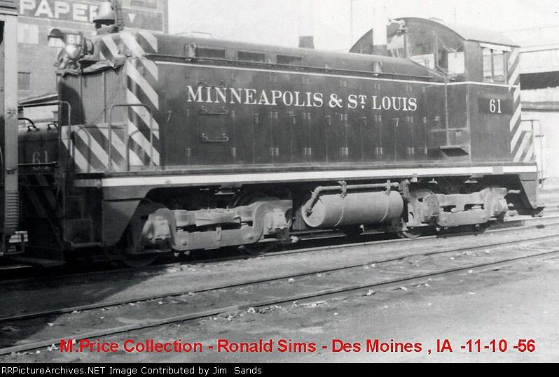 M&STL 61 in 1966