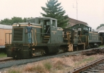All the locomotives of the Stewartstown Railroad
