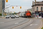 CN 7071 on Clarence Street