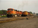 BNSF 5852 and 8918
