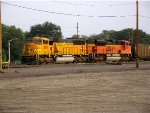 BNSF 8918 and 9358