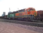 BNSF 2962 and 2921