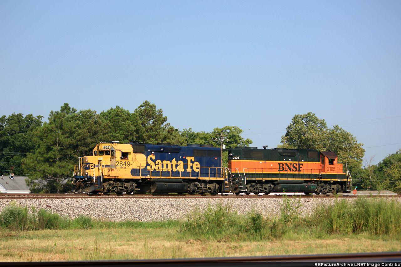 BNSF 2849