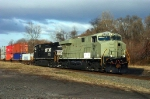 EB NS 24V With GE ES-40DC # 7549 @ 0915 hrs.