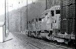 CR westbound freight at Turkey Hill