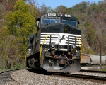 "NS 9592 on an ""Unlevel"" curve along the Pokey..."