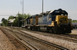 CSX 6071 Sits Within View Of The Depot