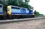 CSX 6248 Rests for the Evening