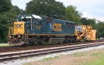CSX 2497 and ditcher both ex Cons